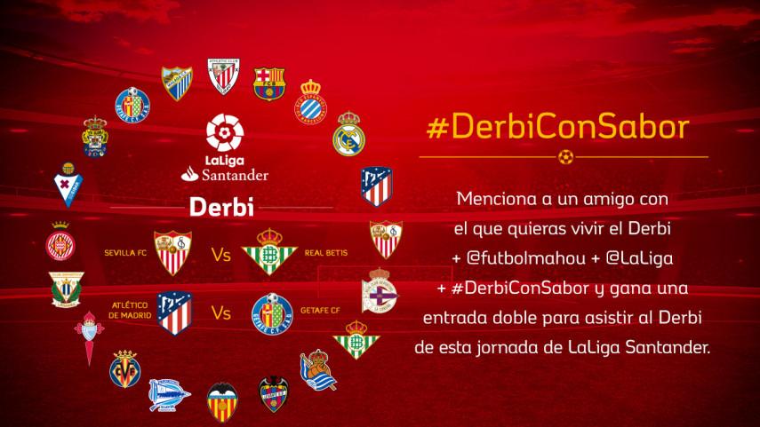 Sevilla FC - Real Betis o Atlético de Madrid - Getafe CF: ¿qué #DerbiConSabor te gustaría vivir?