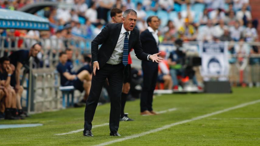 Lucas Alcaraz, nuevo técnico del Real Zaragoza