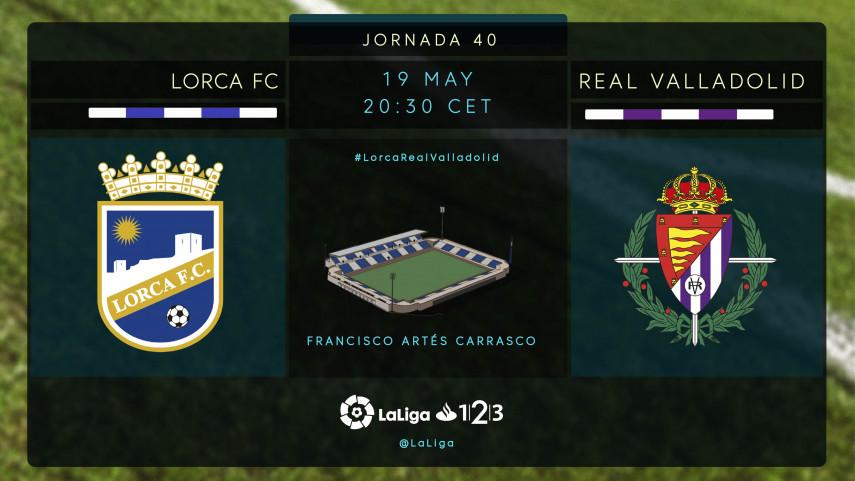 El Lorca FC, obstáculo en el camino del Real Valladolid hacia los play-offs