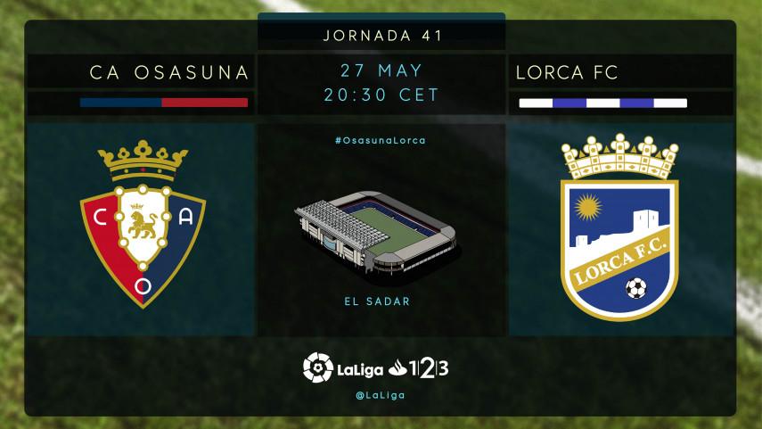 Última oportunidad para Osasuna de engancharse al play-off