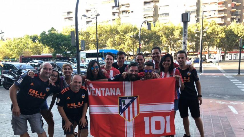 Las Peñas de Valencia y Atlético de Madrid inauguran la temporada