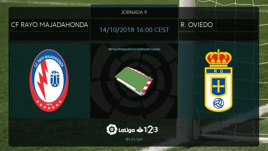 CF Rayo y Oviedo no quieren perder la senda del triunfo
