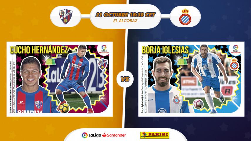 El nuevo Huesca de Francisco se estrena ante el Espanyol