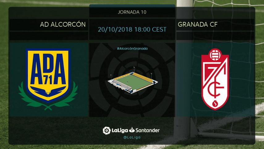 Ticket de ascenso en juego entre Alcorcón y Granada