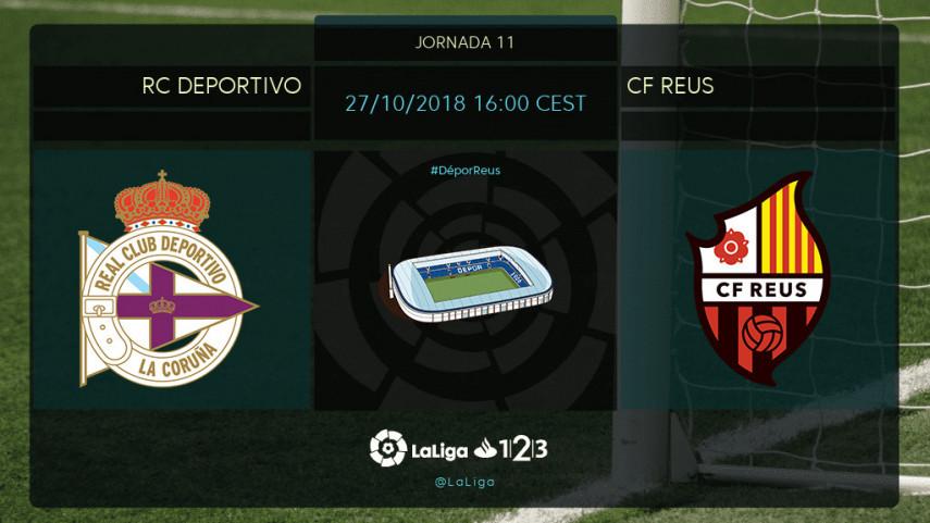 Deportivo y Reus quieren seguir sumando