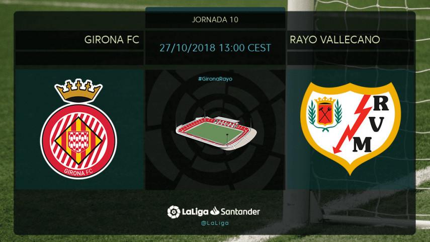 Girona y Rayo quieren volver a ganar