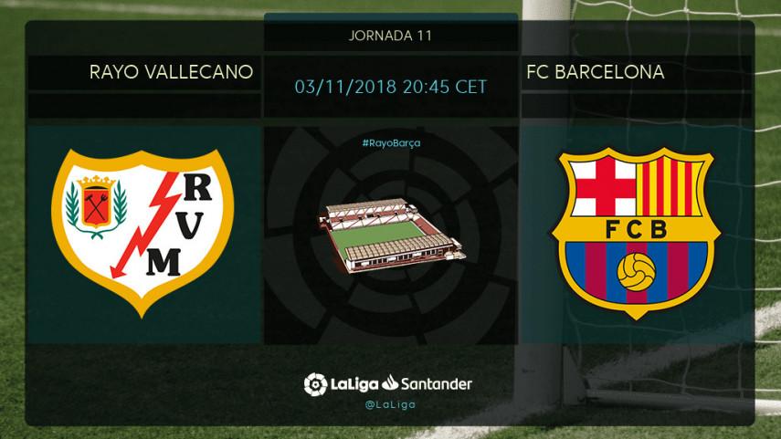 Vallecas, nueva prueba para el FC Barcelona
