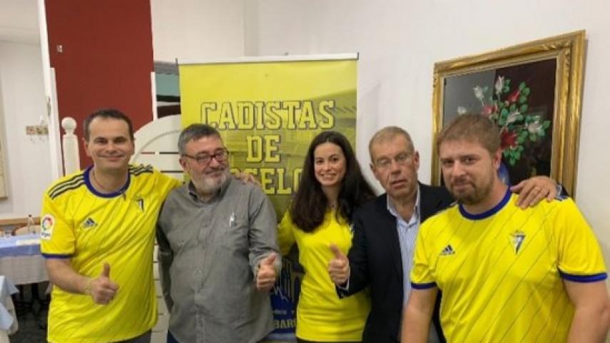 Inaugurada la peña Cadistas de Barcelona