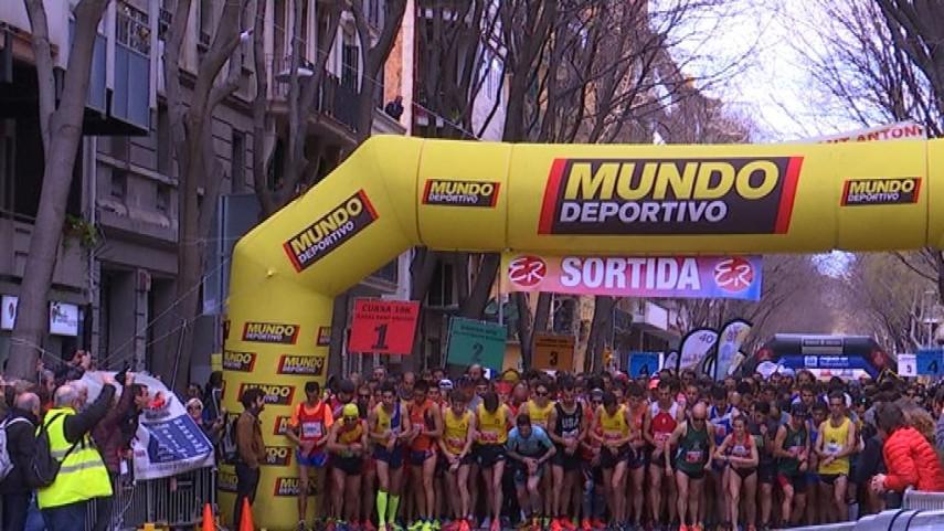 La penya barcelonista L'Eixample Can Conesa organiza la 41 edición de la Cursa Sant Antoni